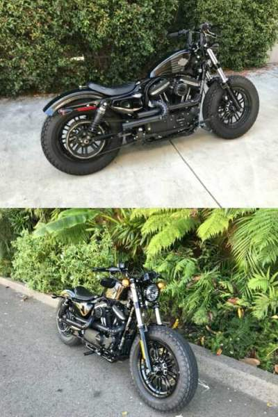 2016 Harley-Davidson Sportster XL1200X Sportster Forty-Eight Black for sale