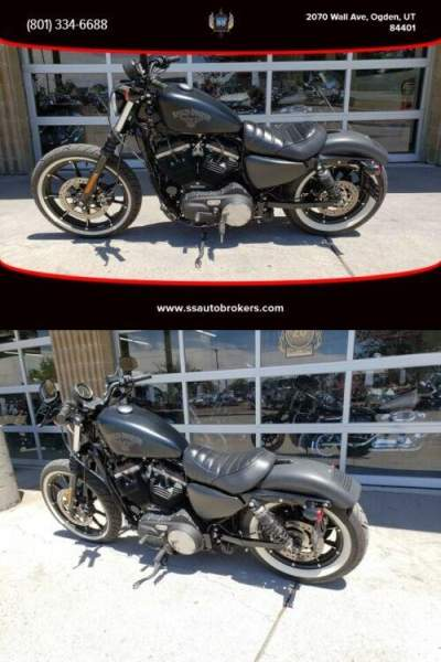 2016 Harley-Davidson Sportster XL883 Iron 883 with 5-speed transmission Black for sale