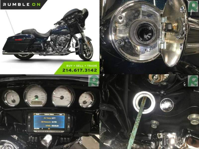 2016 Harley-Davidson Touring CALL (877) 8-RUMBLE Blue for sale