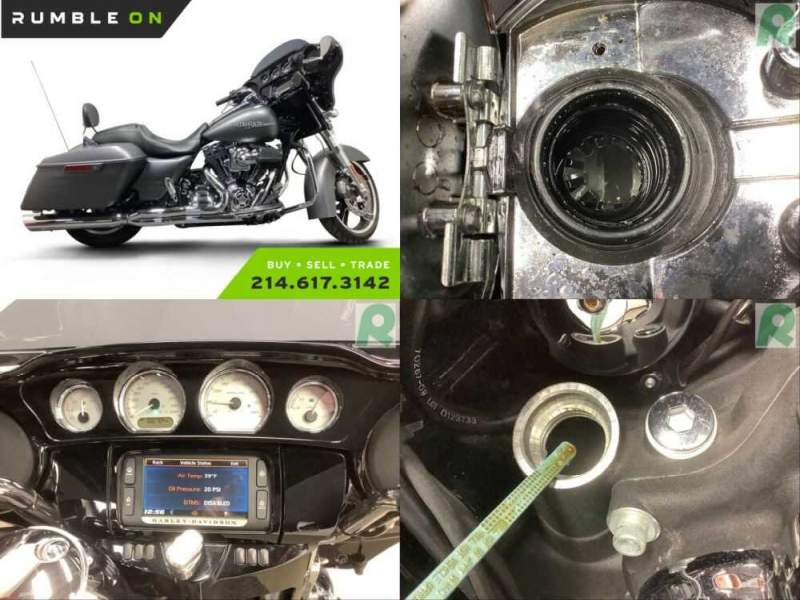 2016 Harley-Davidson Touring CALL (877) 8-RUMBLE Gray for sale
