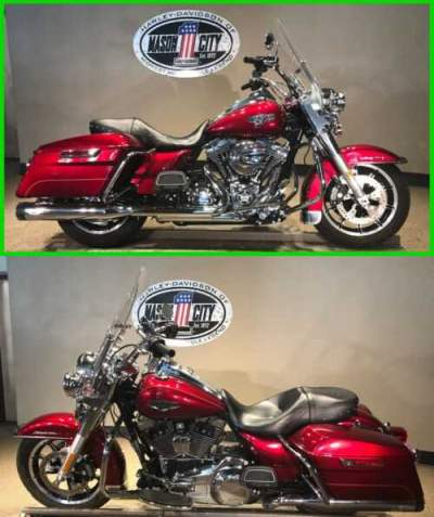 2016 Harley-Davidson Touring Road King® Velocity Red for sale craigslist
