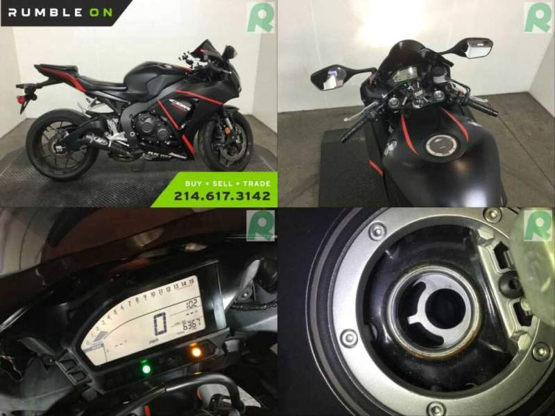 2016 Honda CBR1000RRG CALL (877) 8-RUMBLE Black for sale craigslist