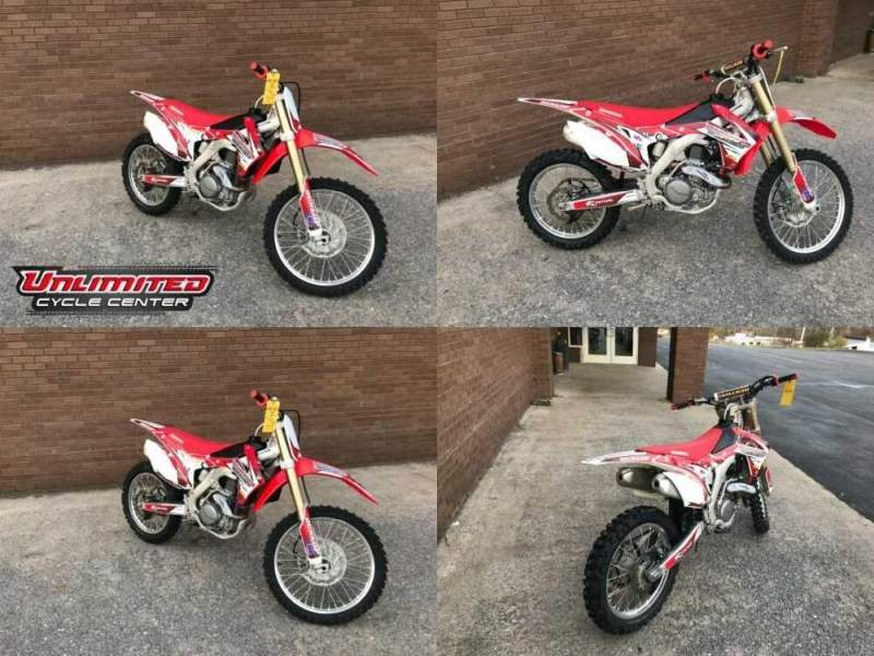 2016 Honda CRF Red for sale