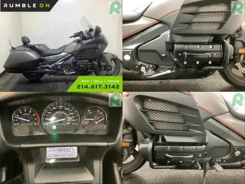 2016 Honda Gold Wing CALL (877) 8-RUMBLE Black for sale