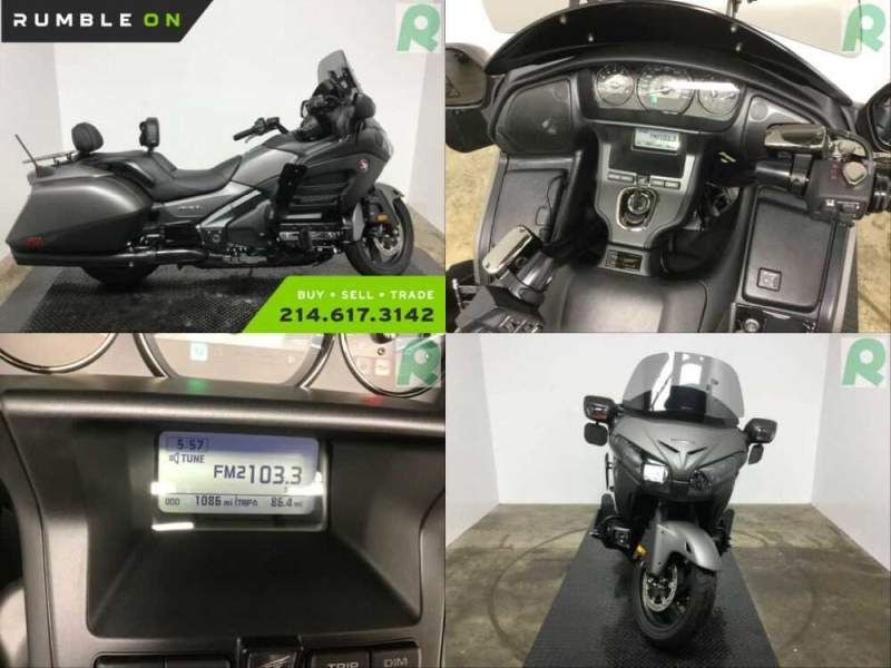 2016 Honda Gold Wing CALL (877) 8-RUMBLE Gray for sale