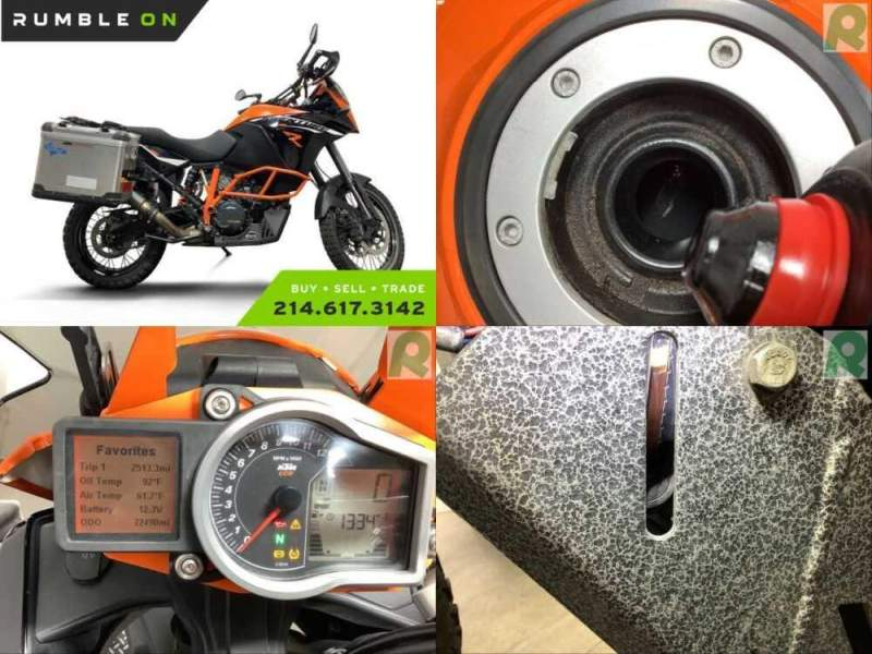 2016 KTM Adventure CALL (877) 8-RUMBLE Black for sale