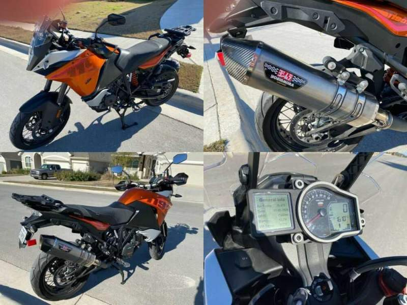 2016 KTM Adventure Orange for sale