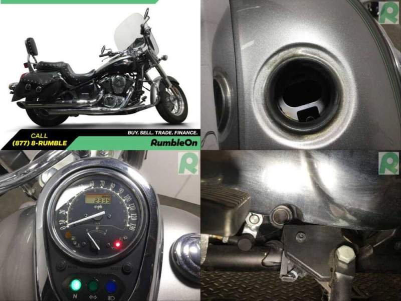 2016 Kawasaki Vulcan CALL (877) 8-RUMBLE Gray for sale