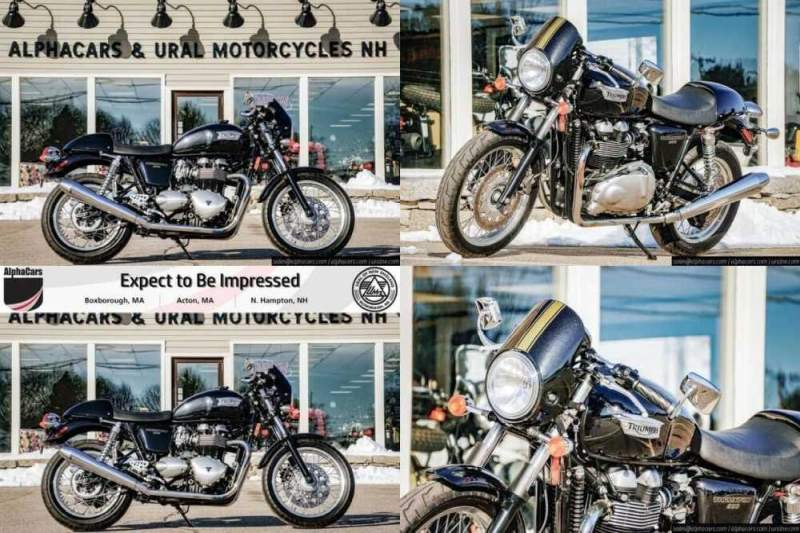 2016 Triumph Thruxton 900 -- for sale craigslist