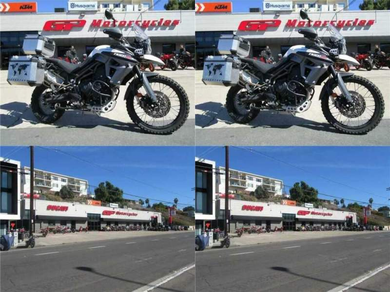 2016 Triumph Tiger 800 XCA White for sale