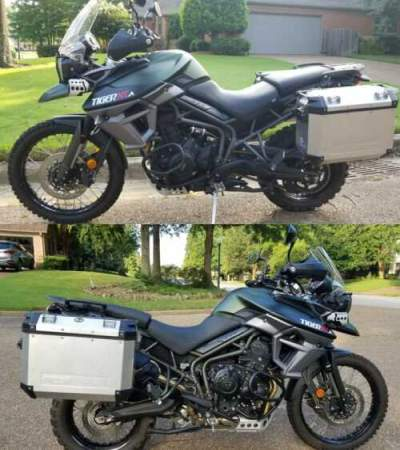 2016 Triumph Tiger Green for sale craigslist