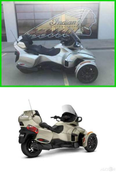 2017 Can-Am Spyder RT-S 6-Speed Semi-Automatic (SE6) Champagne Metallic - Dark Edition for sale