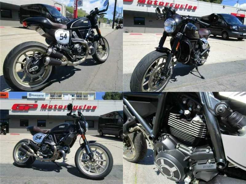 2017 Ducati Scrambler Cafe Racer Black for sale craigslist