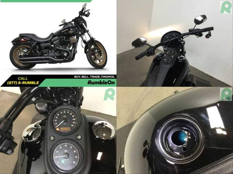 2017 Harley-Davidson Dyna CALL (877) 8-RUMBLE Black for sale craigslist