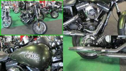 2017 Harley-Davidson Dyna STREET BOB (EFI) Dark Green Metalic for sale