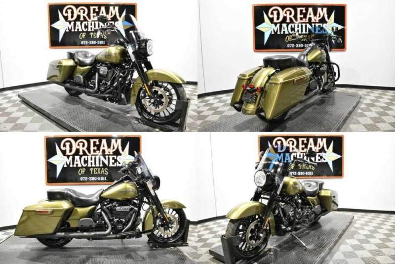 2017 Harley-Davidson FLHRXS - Road King Special Gold for sale craigslist