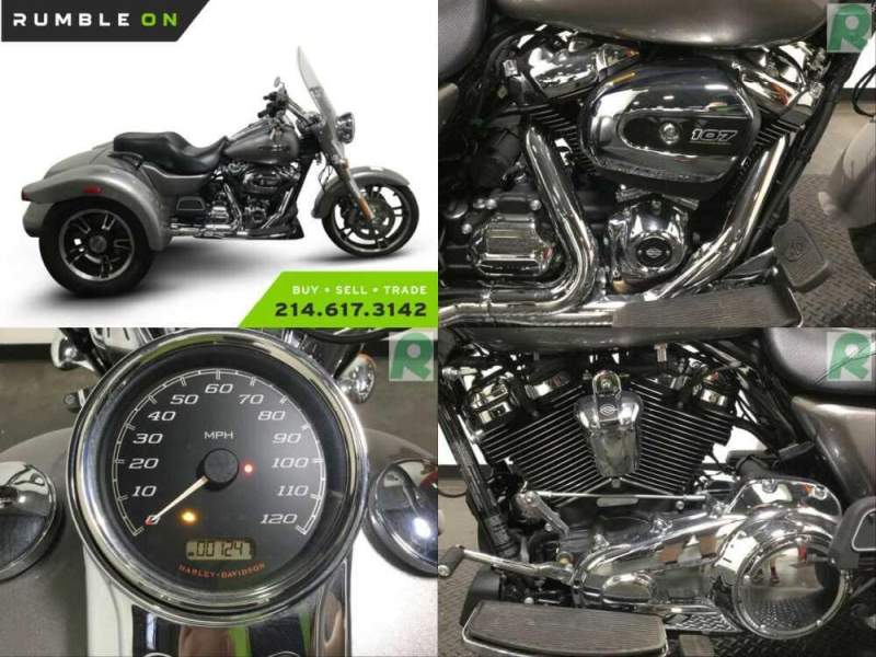 2017 Harley-Davidson FLRT FREEWHEELER CALL (877) 8-RUMBLE Silver for sale