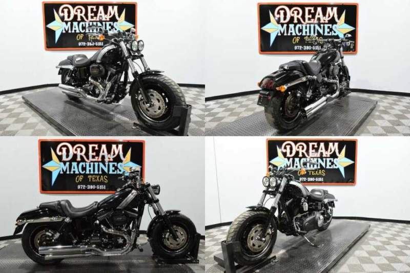 2017 Harley-Davidson FXDF - Dyna Fat Bob Black for sale