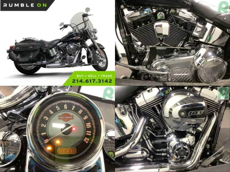2017 Harley-Davidson Softail CALL (877) 8-RUMBLE Black for sale craigslist