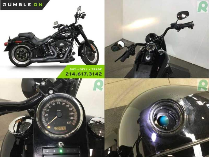 2017 Harley-Davidson Softail CALL (877) 8-RUMBLE Black for sale