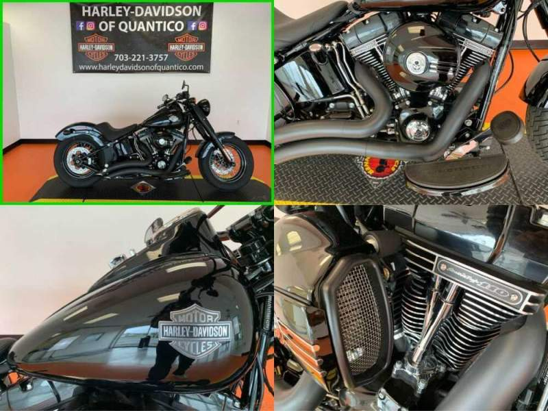 2017 Harley-Davidson Softail Slim S Vivid Black for sale craigslist