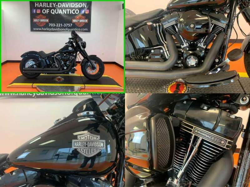 2017 Harley-Davidson Softail Slim Vivid Black for sale craigslist