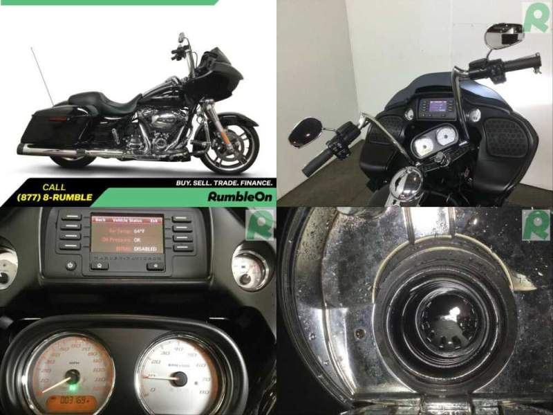 2017 Harley-Davidson Touring CALL (877) 8-RUMBLE Black for sale craigslist