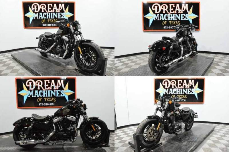 2017 Harley-Davidson XL1200X - Forty-Eight Black for sale
