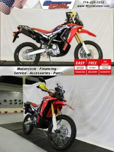 2017 Honda CRF250 RALLY Red for sale