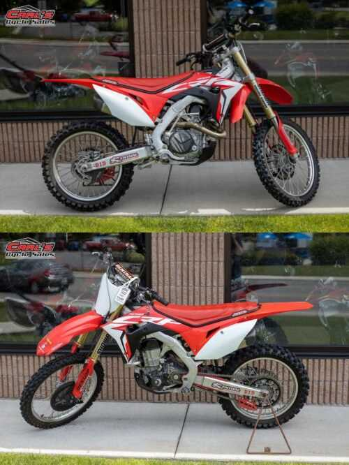 2017 Honda CRF450R Red for sale craigslist