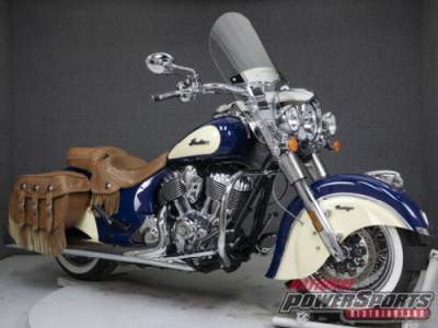 2017 Indian Chief VINTAGE WABS SPRINGFILED BLUE/IVORY CREAM for sale