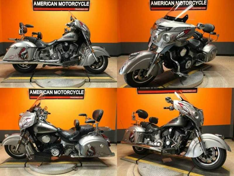 2017 Indian Chieftain Silver for sale craigslist