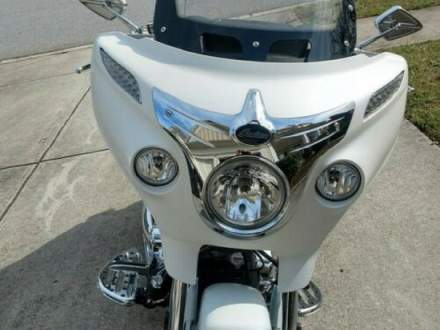 2017 Indian Chieftain White for sale craigslist