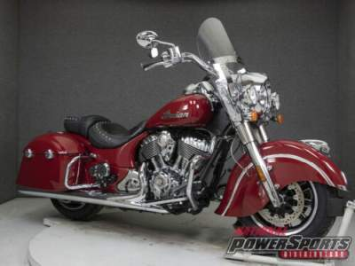 2017 Indian Springfield WABS INDIAN RED for sale craigslist