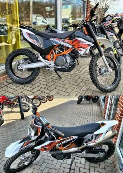 2017 KTM 690 Enduro R White for sale