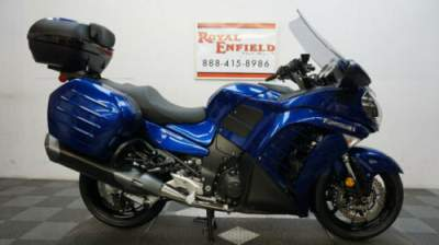 2017 Kawasaki CONCOURS 14 ABS NICE TOURING BIKE!!! Blue for sale