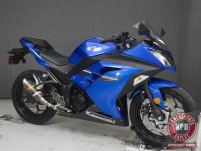 2017 Kawasaki Ninja EX300 WABS Blue for sale craigslist