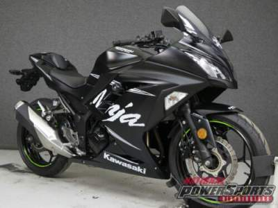 2017 Kawasaki Ninja EX300 WINTER TEST EDITION WABS FLAT EBONY W/SNOWFLAKE GRAPHICS for sale craigslist
