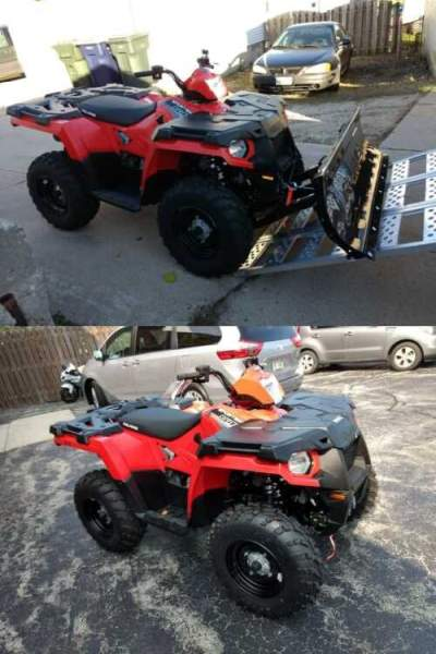 2017 Polaris Sportsman 570 Red for sale craigslist
