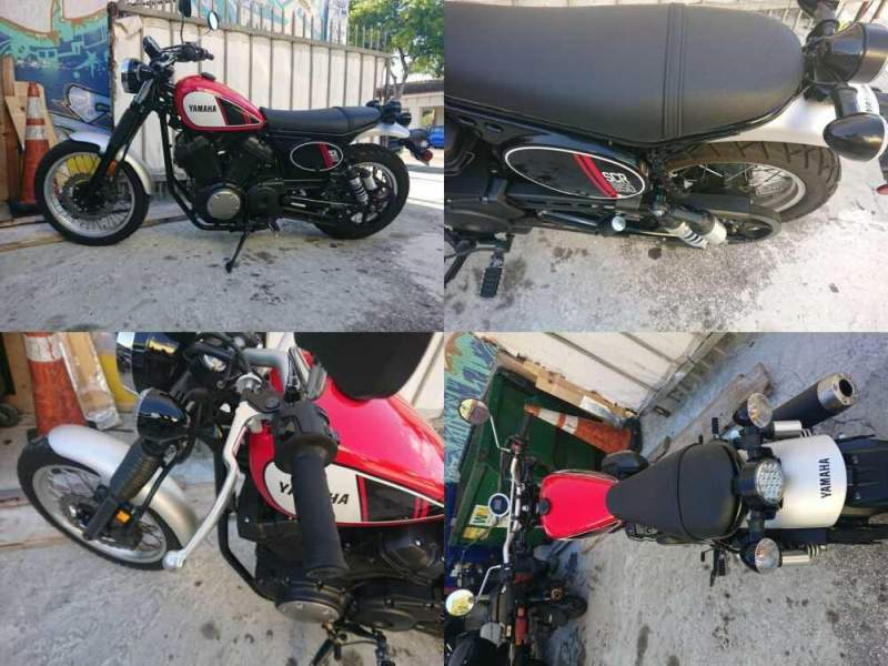 2017 Yamaha SCR950 Red for sale
