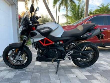 2018 Aprilia Shiver Shiver 900 Black for sale craigslist