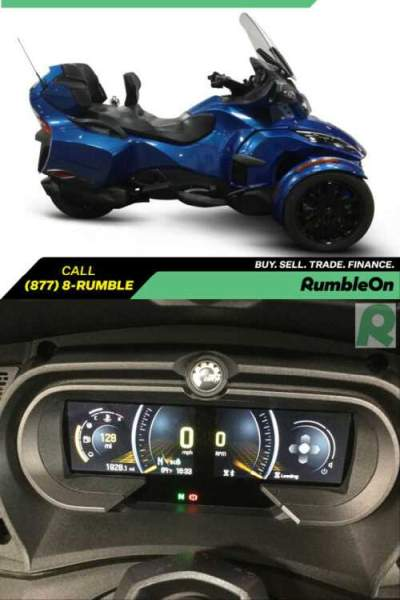 2018 Can-Am SPYDER RT-LIMITED SE6 CALL (877) 8-RUMBLE Blue for sale craigslist