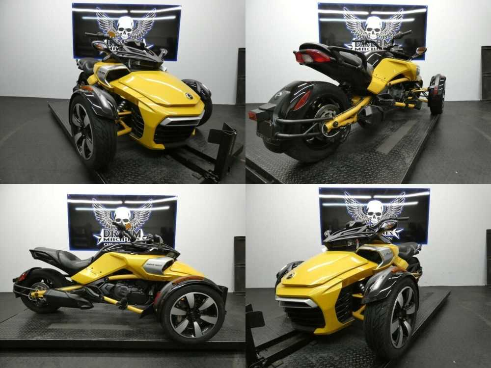 2018 Can-Am Spyder F3-S 6-speed semi-automatic with reverse SE Yellow for sale craigslist