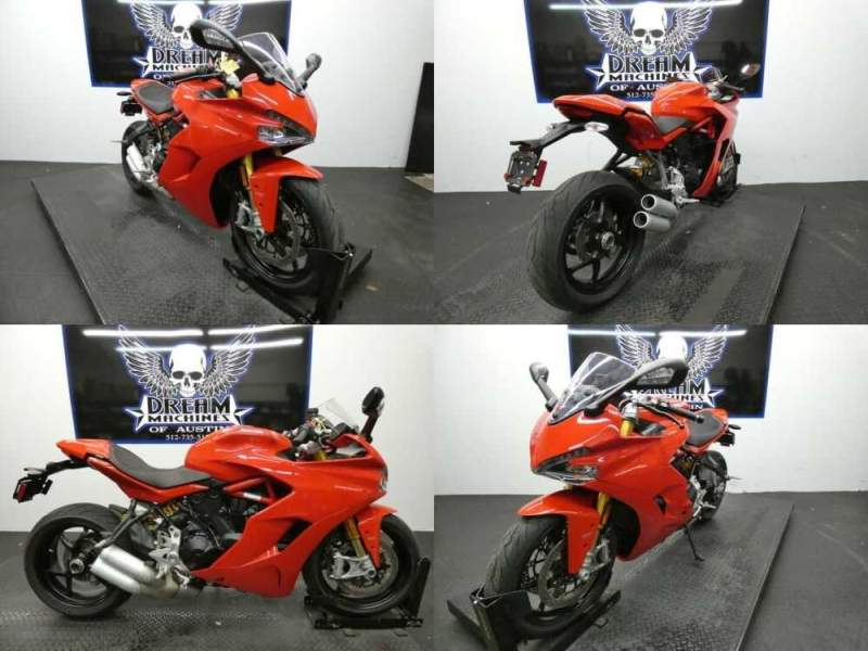 2018 Ducati SuperSport S Red for sale craigslist