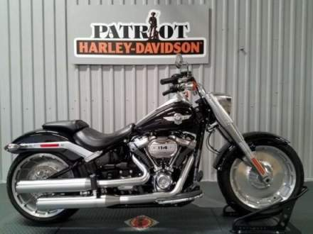 2018 Harley-Davidson FLFBS - Softail® Fat Boy® 114 Black for sale craigslist