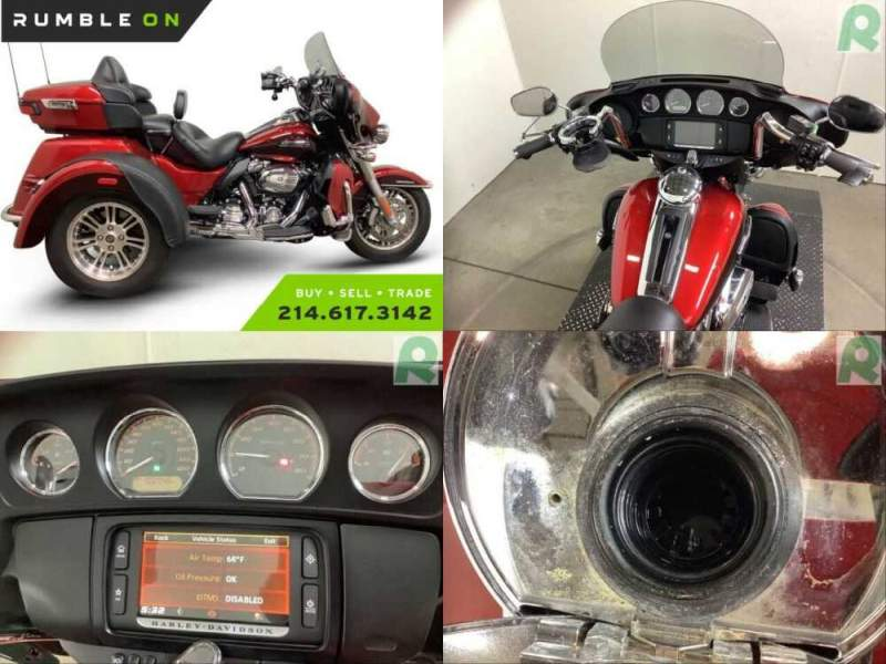 2018 Harley-Davidson FLHTCUTG TRI GLIDE ULTRA CALL (877) 8-RUMBLE Red for sale