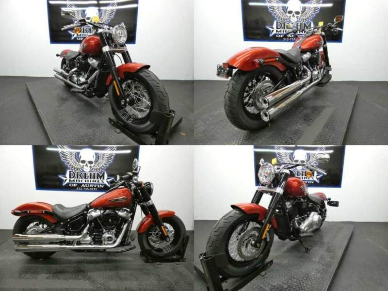 2018 Harley-Davidson FLSL - Softail Softail Slim Red for sale craigslist