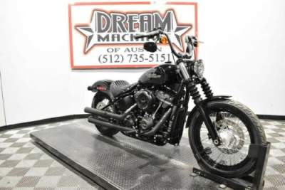 2018 Harley-Davidson FXBB - Softail Street Bob Black for sale craigslist