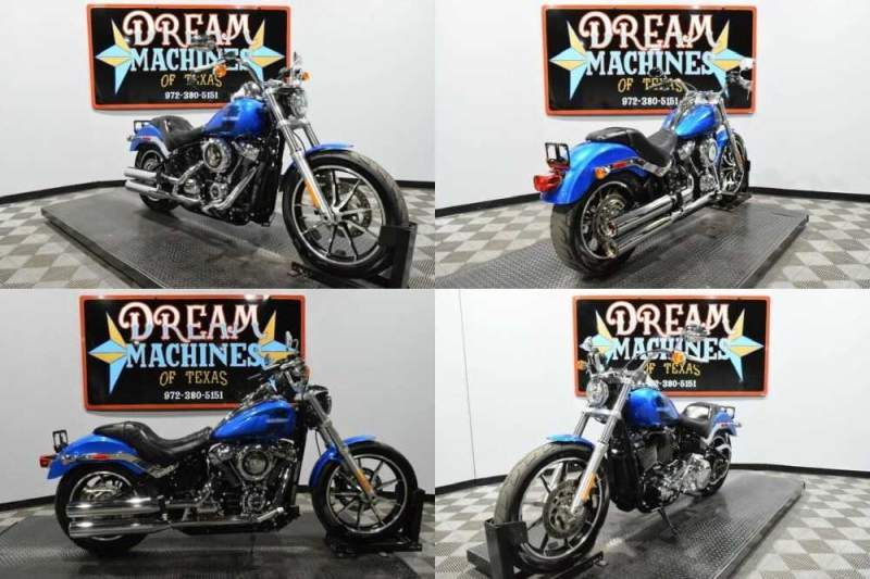 2018 Harley-Davidson FXLR - Softail Low Rider Blue for sale craigslist