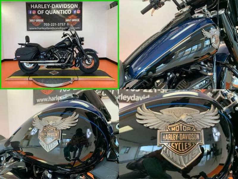 2018 Harley-Davidson Softail 115th Anniversary Legend Blue / Vivid Black for sale